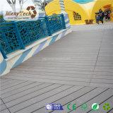 De moderne Aangepaste Vuurvaste Gemakkelijke Installatie Foshan WPC Decking van de Grootte