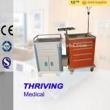 ABS materielles Krankenhaus-Emergency Laufkatze für Medizin-Gebrauch