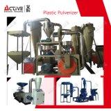 Pulverizer de moedura desperdiçado do PVC do plástico