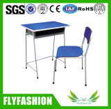 Popular Mobiliario Escolar única escuela escritorio con silla (SF-69S)