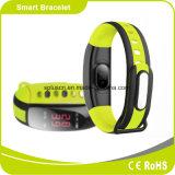 Moniteur de fréquence cardiaque étanche avec de longs temps d'attente Smart Bracelet