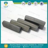 튼튼한 Yg3X/Yg6/Yg8/Yg8c/Yg20에 의하여 시멘트가 발라지는 텅스텐 탄화물 돌 끌, 탄화물 돌 절단 도구