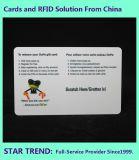진료소 카드는 진료소를 위한 자석 줄무늬를 가진 플라스틱을 만들었다