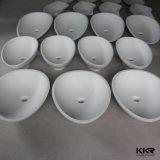 Table en marbre blanc italien haut bassin de lavage à main