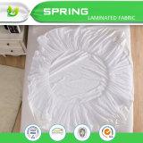 反塵のダニの綿およびポリエステルは100%年のマットレスの保護装置カバーを防水する