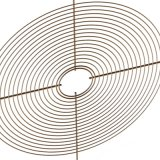 Haute qualité en acier galvanisé le couvercle de protection du ventilateur