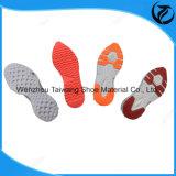 Semelle à quatre couleurs TPR pour chaussure