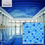 De openlucht Goedkope Blauwe Tegel van het Zwembad van het Mozaïek van het Glas