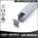4210 vertiefter Aluminiumstrangpresßling für LED-Streifen-Licht