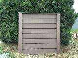 Comercio al por mayor compuesto de plástico decorativos de madera verde WPC Composite paneles valla /Esgrima