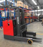 Chargement électrique 2000kg de chariot élévateur de camion de l'extension 48V diplômée par ce, avec le plein mât libre de 7m