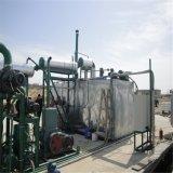 La régénération de l'appareil de distillation de l'huile usée