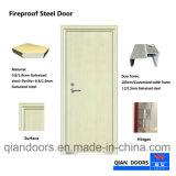 2018の白カラー火の評価される鋼鉄ドアの良質のドア