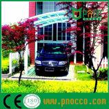 Het Zeil Carports van het Polycarbonaat van de Structuur van het aluminium voor Villa