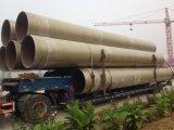 Tubo di plastica rinforzato con vetro del cilindro del tubo della fibra della fibra di FRP
