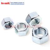 ISO4032 Hex гайка Zp используемое с сталью сплава