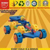 Brinquedos creativos plásticos do bloco de apartamentos de DIY
