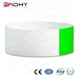 Wristband a gettare impermeabile di RFID Tyvek per la piscina