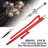 Cir의 칼 5PCS/Ctnthe Witcher3: 사나운 사냥 HK9323 125cm