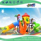 2018 Nova piscina Red Mushroom House parque infantil com o slide cilíndrico (H17-A18)
