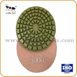 Spirale, droites, Tampon à polir les dents cylindriques de béton, outil de diamants pour le béton, , rue.