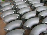 Aço inoxidável Allloy 90 graus para o cotovelo do tubo de escape. O óleo. Indústria comunitária