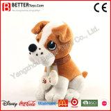 Juguete suave de la felpa del animal relleno del perrito del perro para los niños/los cabritos