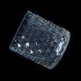 De voorraad In reliëf gemaakte Houder van de Kaars van het Glas