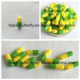 OEM 밝은 초록색과 노란 체중을 줄이는 캡슐 체중 감소
