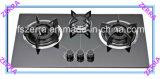 Электроника кухни Hob газа 3 горелок (JZG-04A)
