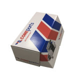 Напечатано транспортировочной коробки из гофрированного картона с белым внутри упаковочного ящика для изготовителей оборудования