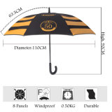 High Quality Strong Straight Promotional Advertisement Umbrella for VIP Client