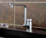 LED tournent à 360 degrés de commande de température chaude et froide du robinet de cuisine