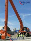 long boum d'extension de 33m pour la grande excavatrice superbe CAT6018, CAT6020, Hitachi1200, Komatsu1250