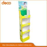 Wellpappen-Papier-Bildschirmanzeige-fördernder Standplatz für Einzelverkauf