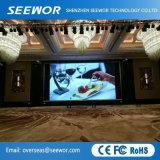 Taux de rafraîchissement élevé P6.25 Indoor plein écran à affichage LED de couleur avec des prix concurrentiels