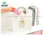 Мешок бумажного хранения нового типа портативный дешевый рециркулированный упаковывая с ручками