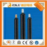Câble d'alimentation résistant au feu engainé par PVC blindé de bande en acier d'isolation de XLPE