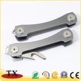Подгонянные цепь металла формы алюминиевые ключевая и устроитель ключа
