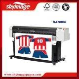 Impresora de inyección de tinta de la sublimación de la anchura de Rj 900X Mutoh el 1.118m para la ropa de deportes