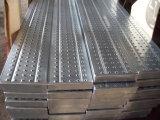 Panneau en acier galvanisé de promenade de planche d'échafaudage