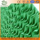 Panal de efecto invernadero por evaporación de papel la almohadilla de refrigeración