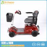 Scooter motorisé Handicapped se pliant de mobilité de 4 roues vieux
