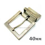 Alliage de zinc métal de haute qualité réversible broche boucle la boucle de ceinture pour les courroies de chaussures du vêtement Robe de sacs à main (XWS-ZD212-ZD296)
