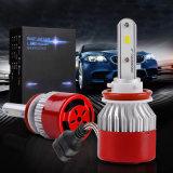 Linterna obediente H11 H8 25watts de la motocicleta de RoHS 3000lm LED