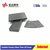 Plana de carburo de tungsteno de placas de desgaste