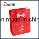Дешевые Пользовательский логотип Wholesales печатной бумаги упаковки подарок сумки