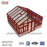 Commerce de gros châssis en aluminium personnalisé solarium pour temps de Luxe