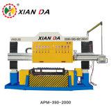 Apm-350-2000-10 voor de Oppoetsende Machine van de Plak van de Boog van de Verwerking van de Steen