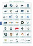 ディーゼル機関の予備品のアッセンブリのための高圧オイル管